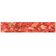 RED MAPLE LEAVES Flano Scarf (Large)