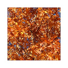 Orange Leaves Acrylic Tangram Puzzle (6  X 6 )