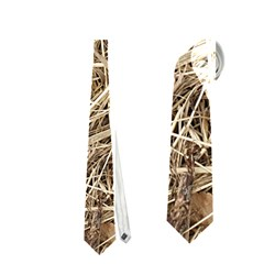 Light Colored Straw Neckties (two Side)