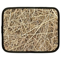 LIGHT COLORED STRAW Netbook Case (XL)