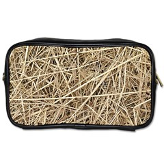 LIGHT COLORED STRAW Toiletries Bags