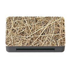 LIGHT COLORED STRAW Memory Card Reader with CF