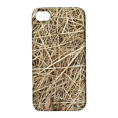 LIGHT COLORED STRAW Apple iPhone 4/4S Hardshell Case with Stand