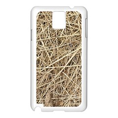 LIGHT COLORED STRAW Samsung Galaxy Note 3 N9005 Case (White)