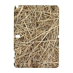 LIGHT COLORED STRAW Samsung Galaxy Note 10.1 (P600) Hardshell Case