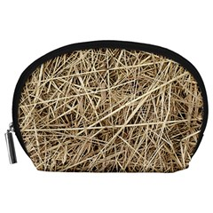 LIGHT COLORED STRAW Accessory Pouches (Large)