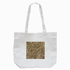 LIGHT COLORED STRAW Tote Bag (White)