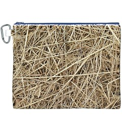LIGHT COLORED STRAW Canvas Cosmetic Bag (XXXL)