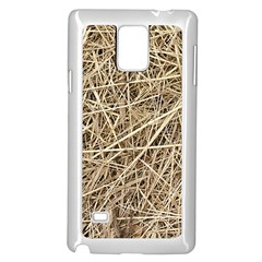 LIGHT COLORED STRAW Samsung Galaxy Note 4 Case (White)