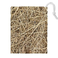LIGHT COLORED STRAW Drawstring Pouches (XXL)