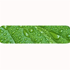 GREEN LEAF DROPS Large Bar Mats