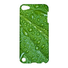 GREEN LEAF DROPS Apple iPod Touch 5 Hardshell Case