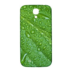 GREEN LEAF DROPS Samsung Galaxy S4 I9500/I9505  Hardshell Back Case