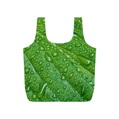 GREEN LEAF DROPS Full Print Recycle Bags (S)