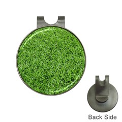 GREEN GRASS 2 Hat Clips with Golf Markers