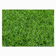 GREEN GRASS 2 Large Glasses Cloth