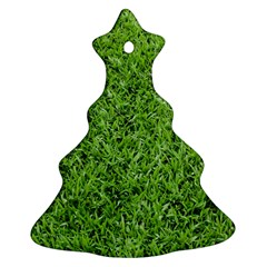 Green Grass 2 Ornament (christmas Tree)