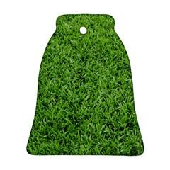 Green Grass 2 Bell Ornament (2 Sides)