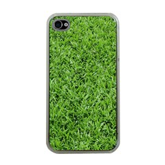 GREEN GRASS 2 Apple iPhone 4 Case (Clear)