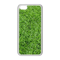 GREEN GRASS 2 Apple iPhone 5C Seamless Case (White)