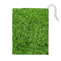 GREEN GRASS 2 Drawstring Pouches (Extra Large)