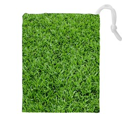 GREEN GRASS 2 Drawstring Pouches (XXL)