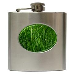 GREEN GRASS 1 Hip Flask (6 oz)