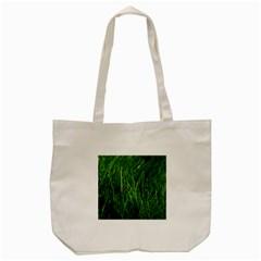 GREEN GRASS 1 Tote Bag (Cream)
