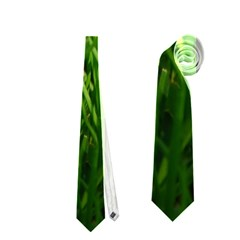 GREEN GRASS 1 Neckties (One Side)