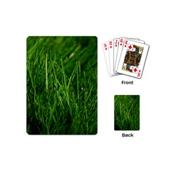GREEN GRASS 1 Playing Cards (Mini)