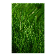 GREEN GRASS 1 Shower Curtain 48  x 72  (Small)