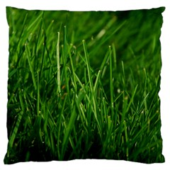 GREEN GRASS 1 Large Cushion Cases (Two Sides)