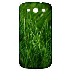 GREEN GRASS 1 Samsung Galaxy S3 S III Classic Hardshell Back Case