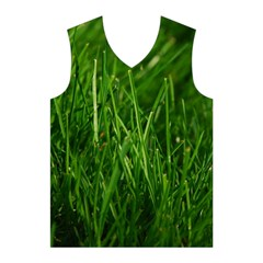 GREEN GRASS 1 Men s Basketball Tank Top
