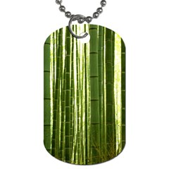 BAMBOO GROVE 2 Dog Tag (One Side)