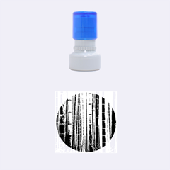 BAMBOO GROVE 2 Rubber Round Stamps (Small)