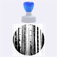 BAMBOO GROVE 2 Rubber Round Stamps (Large)