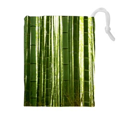 Bamboo Grove 2 Drawstring Pouches (extra Large)