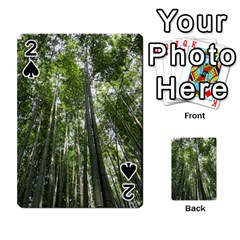 Bamboo Grove 1 Playing Cards 54 Designs