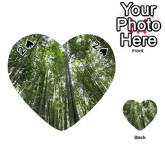 Bamboo Grove 1 Playing Cards 54 (heart)