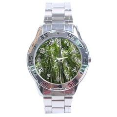 BAMBOO GROVE 1 Stainless Steel Men s Watch