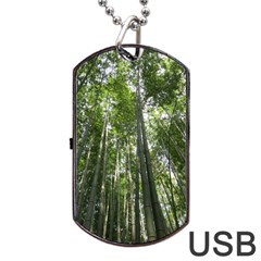 BAMBOO GROVE 1 Dog Tag USB Flash (Two Sides)