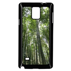 BAMBOO GROVE 1 Samsung Galaxy Note 4 Case (Black)