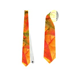 AUTUMN LEAVES 1 Neckties (One Side)