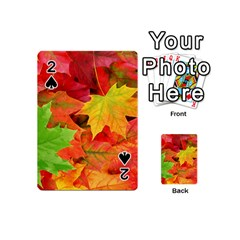 AUTUMN LEAVES 1 Playing Cards 54 (Mini)