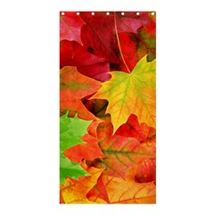 AUTUMN LEAVES 1 Shower Curtain 36  x 72  (Stall)