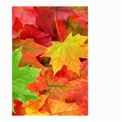 AUTUMN LEAVES 1 Small Garden Flag (Two Sides)