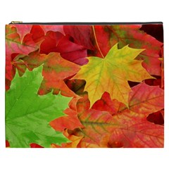 AUTUMN LEAVES 1 Cosmetic Bag (XXXL)