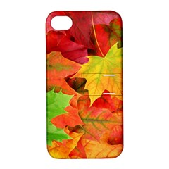 AUTUMN LEAVES 1 Apple iPhone 4/4S Hardshell Case with Stand