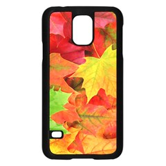 AUTUMN LEAVES 1 Samsung Galaxy S5 Case (Black)